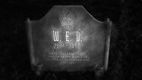 The mysterious WED tombstone in Kimber Hollow's haunted graveyard